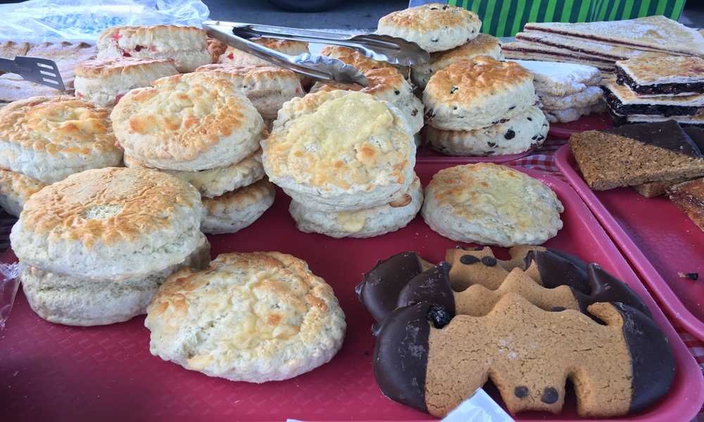 Kirkby Lonsdale Charter Market cakes