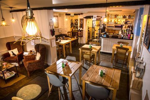 inside a Kirkby Lonsdale cafe
