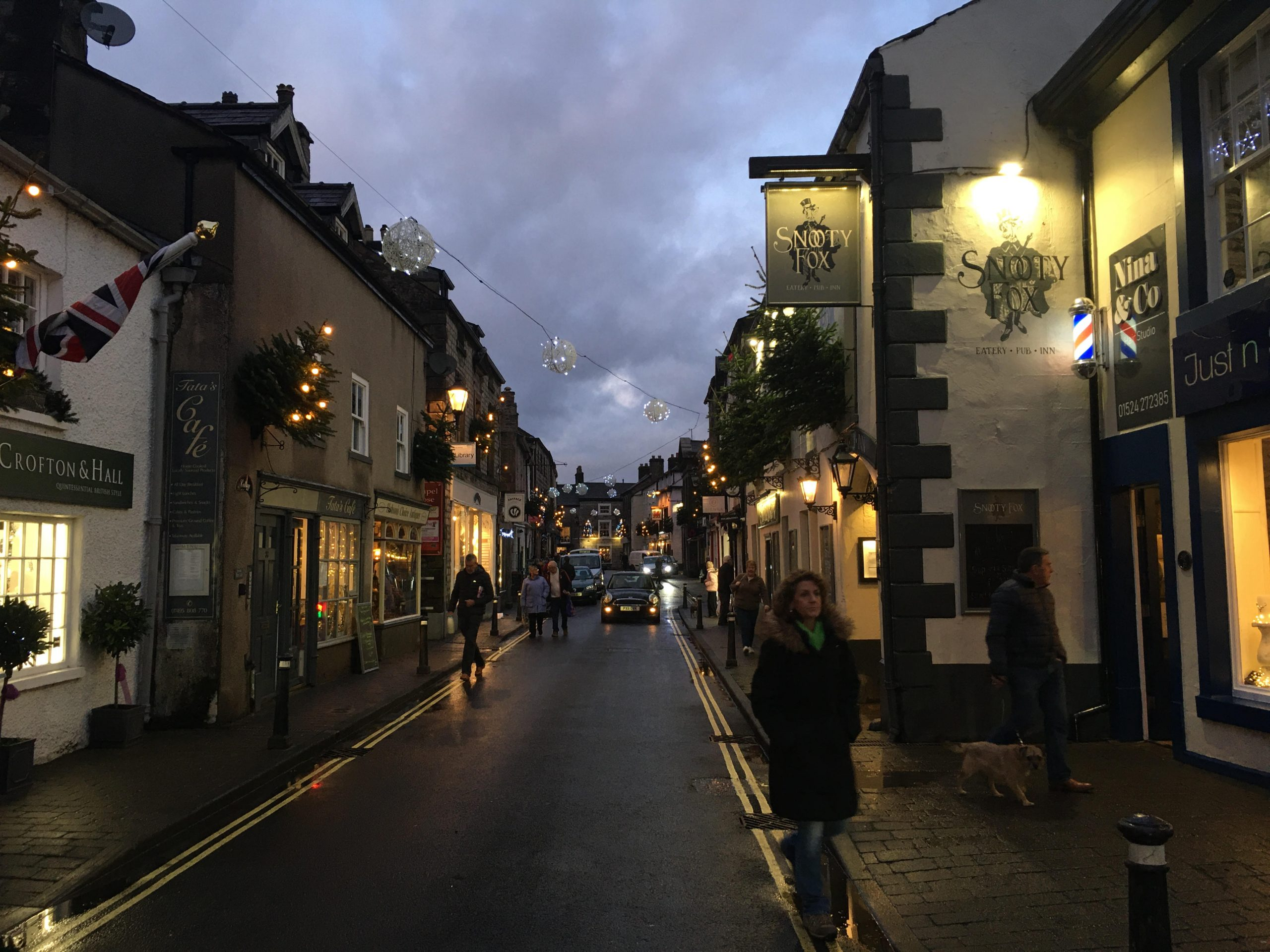 Kirkby Lonsdale High Street