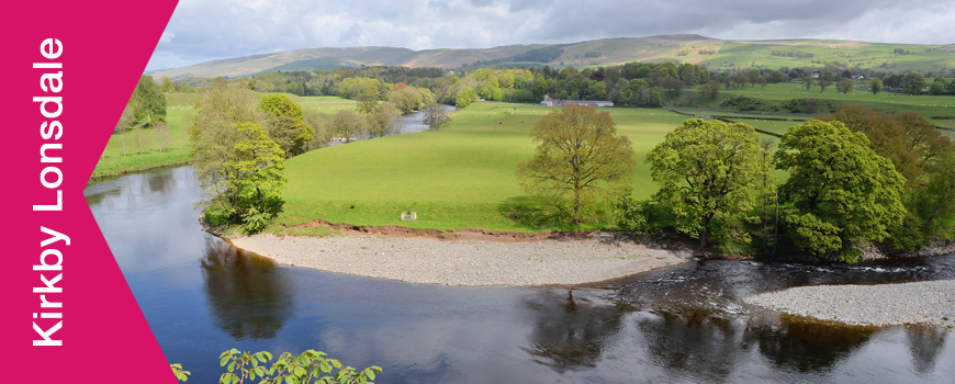 Kirkby Lonsdale river view