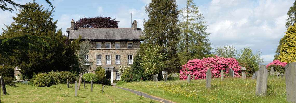 Front view of Kirkby Lonsdale Rectory