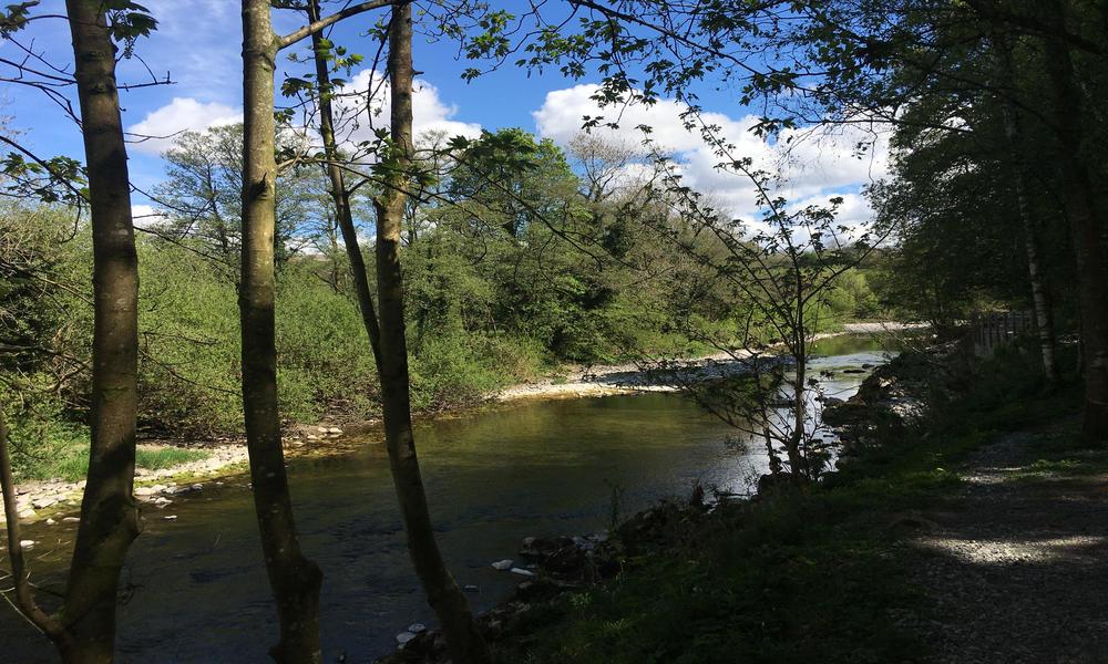 River walk Kirkby Lonsdale