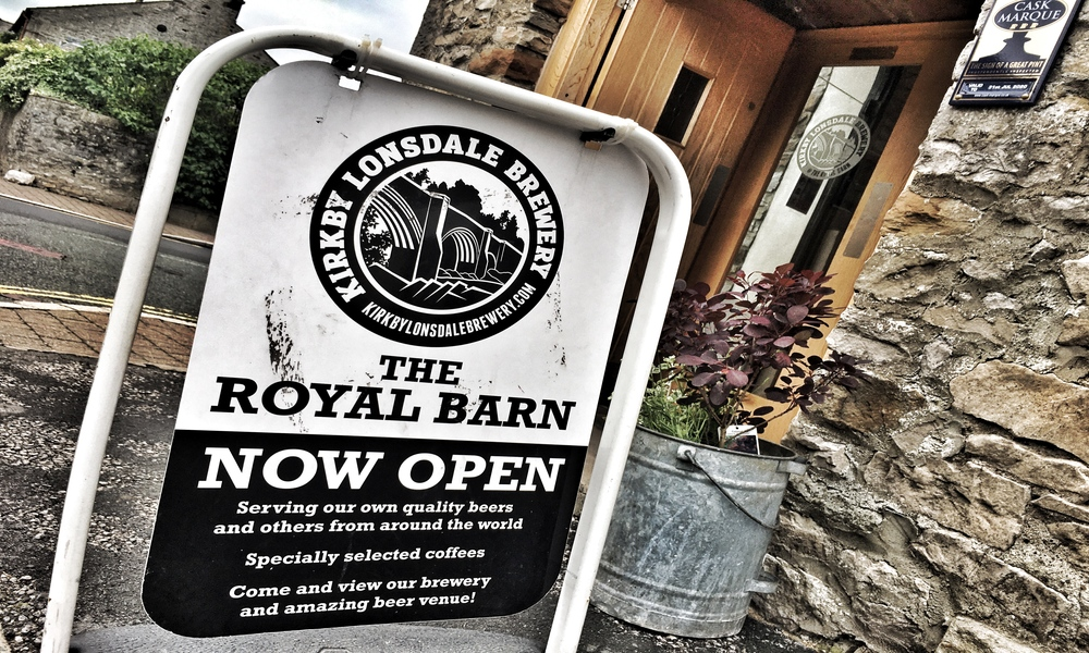 Royal Barn is open