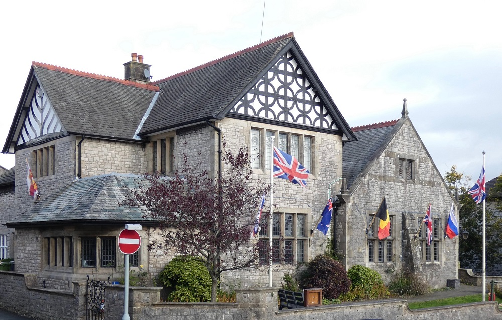 Lunesdale Hall Exterior, Kirkby Lonsdale