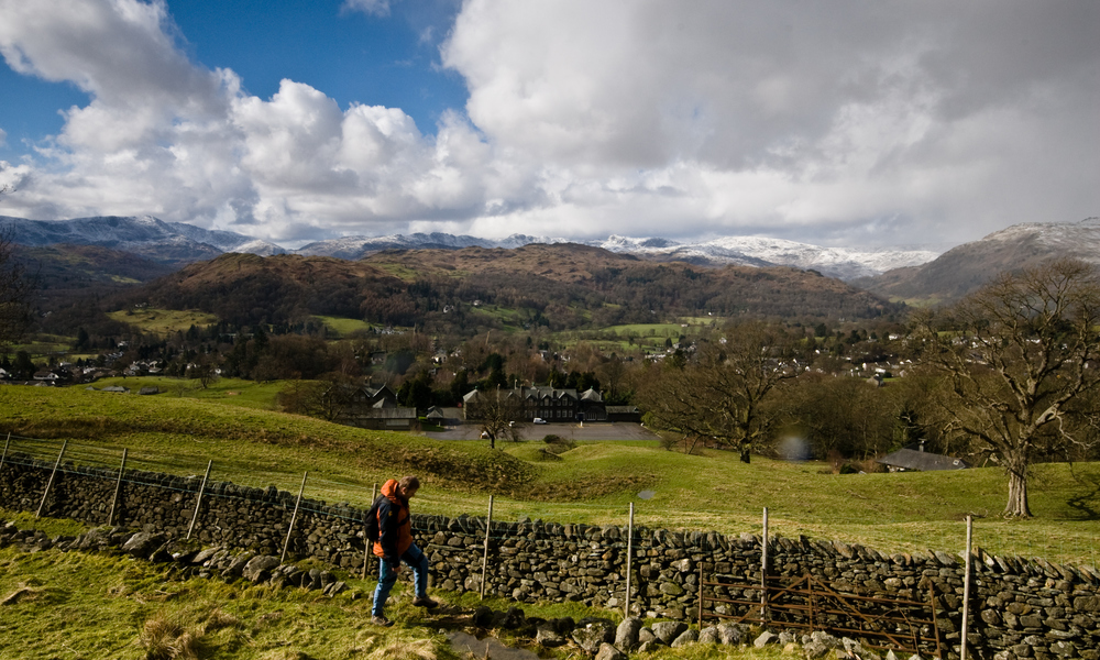 Fairfield Horseshoe, Ambleside. Image by Cumbria Tourism
