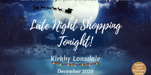 Late Night Shopping and Christmas Window Competition on 18th December
