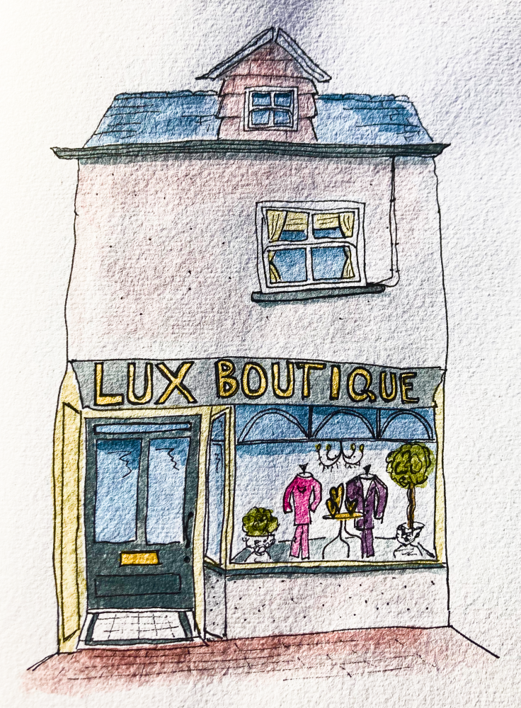 Click here to shop online at Lux Boutique Kirkby Lonsdale