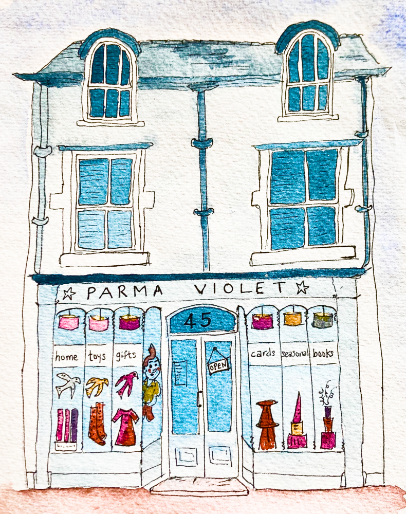 Click here to shop online at Parma Violet Kirkby Lonsdale