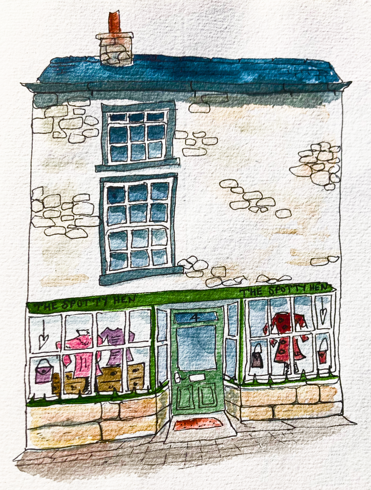 Click here tossup online at The Spotty Hen Kirkby Lonsdale