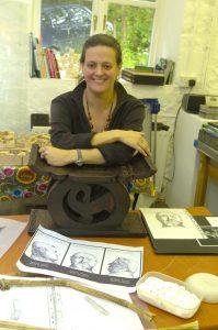 Phoenix Rising Artist Sue Flowers from Green Close Studios