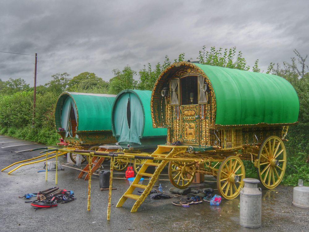 traditional gypsy caravans