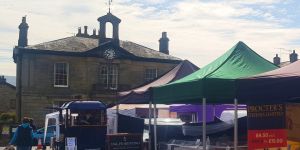 Charter Market Job Vacancy: Assist set-up and take down every Thursday