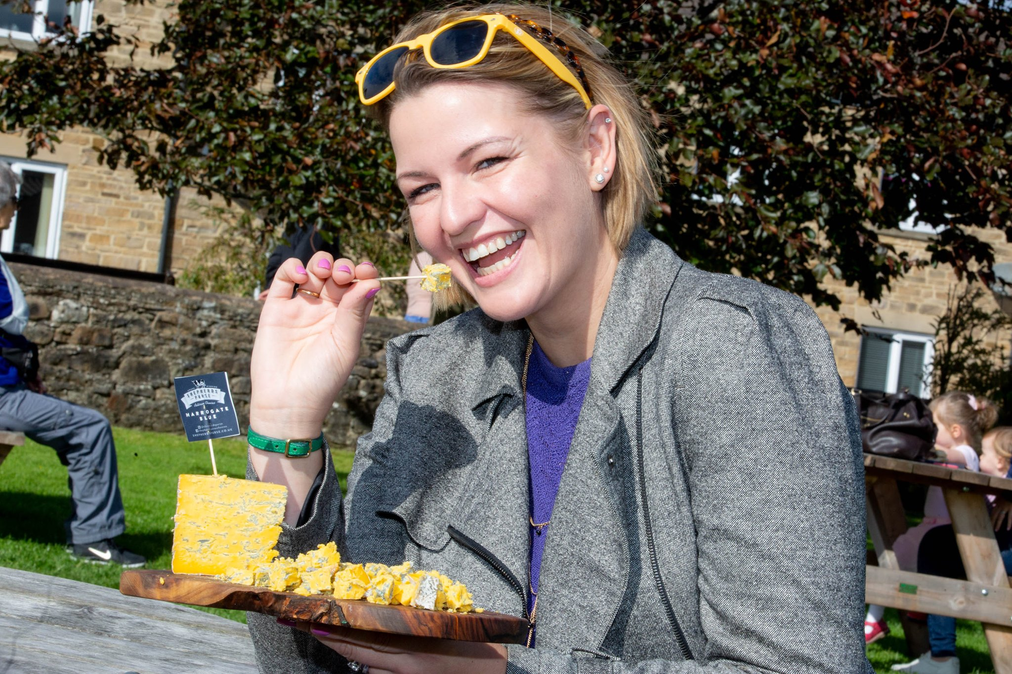 Yorkshire Dales Cheese Festival Tasting