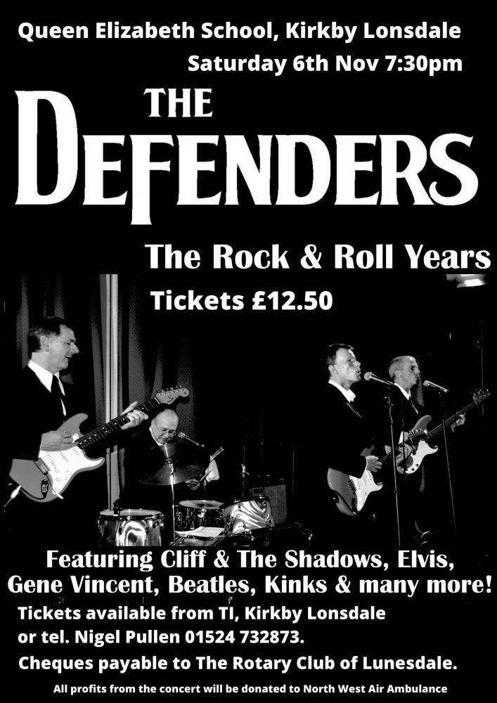 The Defenders concert QES