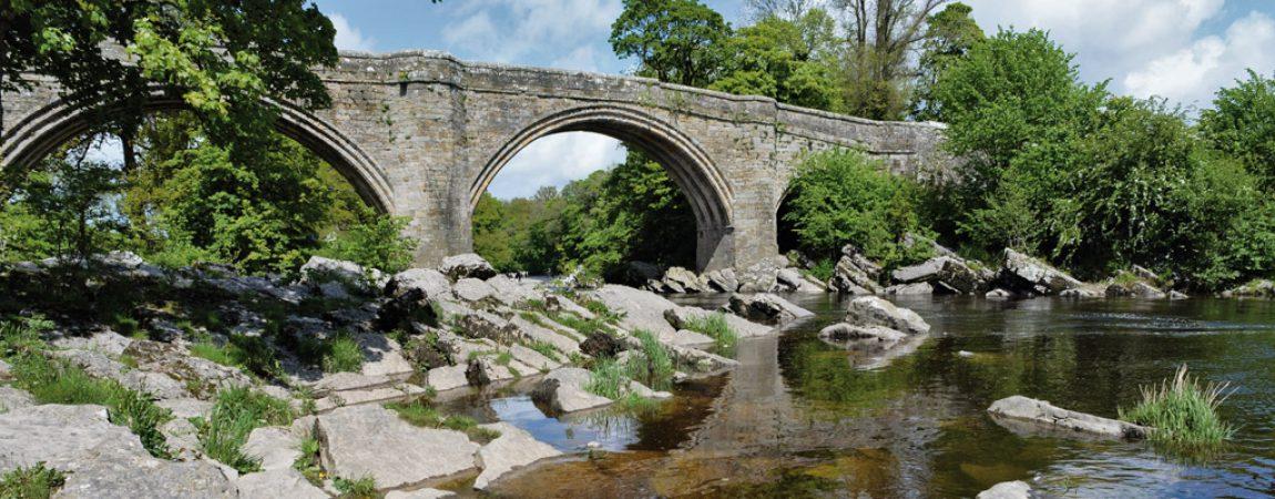 Historic Devils Bridge at Kirkby Lonsdale